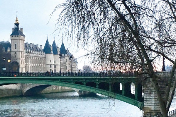 The Conciergerie and a view of the Seine